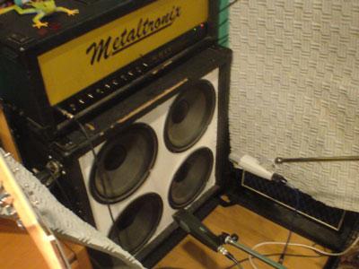 スタジオ シャーニマニカ metaltronix ギターアンプ