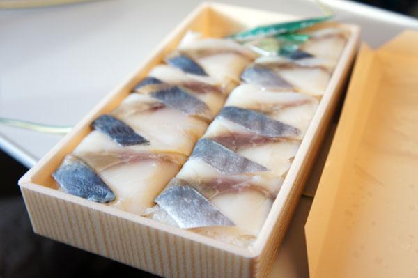 鯖の押し寿司 駅弁