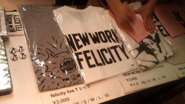 felicity live new work felicity Tシャツ
