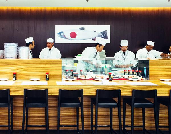 寿司屋の作務衣