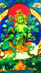 聖ターラ菩薩(緑ターラ)