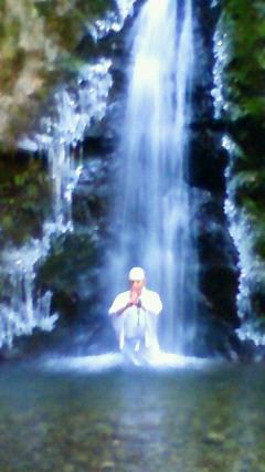 2011年御岳山初滝行