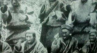 チベット族堅指