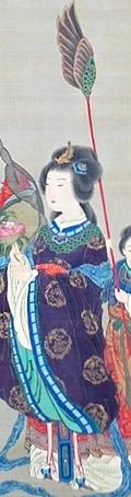 西王金母図像