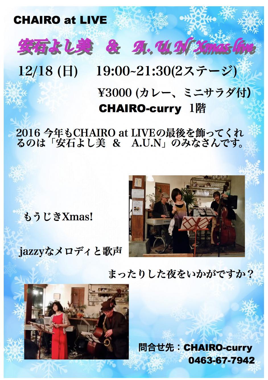 安石ライブ2016