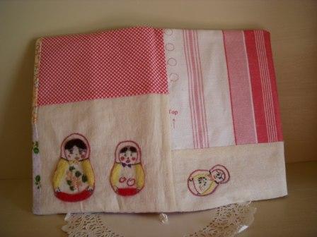 マトリューシュカちゃんbook カバー