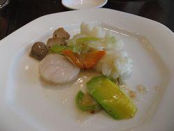 韓国かぼちゃの海鮮炒め