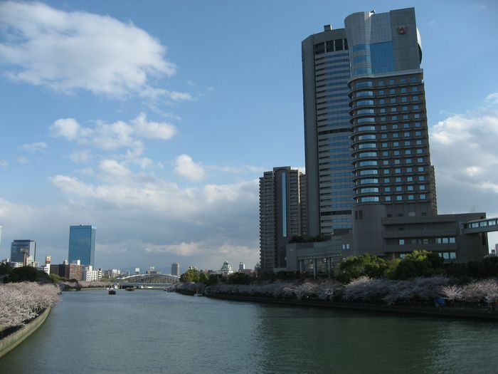 Imperial Hotel Osaka&Osaka Casle