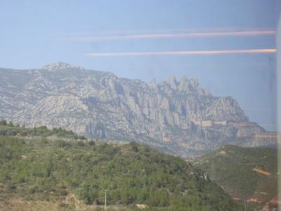 モンセラートへの山