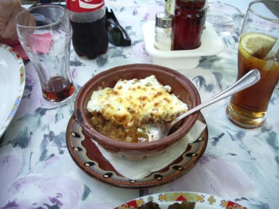 ブルガリア料理1ムサカ