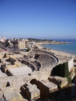 タラゴナの地中海2円形劇場