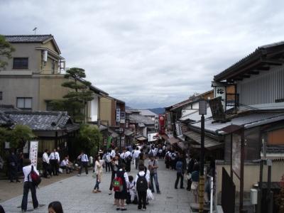 京都2清水寺の麓