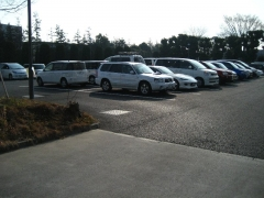 大会駐車場1