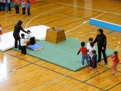体操教室跳び箱
