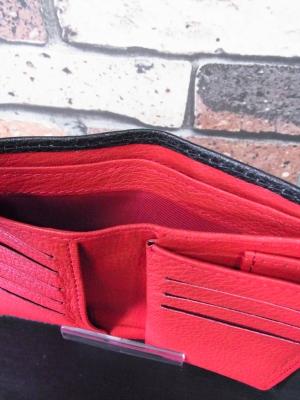 三つ折り財布 ミドルウォレット オーダー
