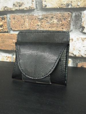 リザード革のオリジナルコンパクト財布