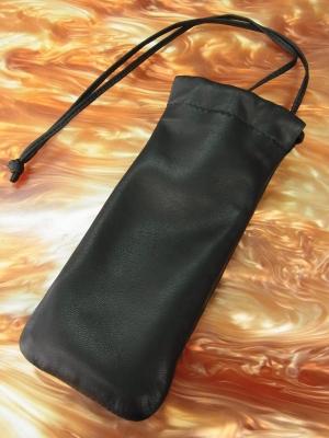 巾着袋のメガネケースのオーダーメイド