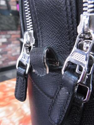 ダンヒルのビジネスバッグの修理
