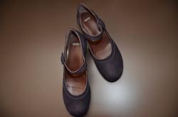 紫の靴 CAMPER