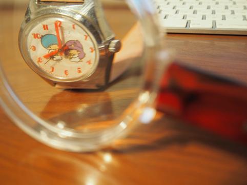 キキララの腕時計