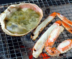 ブログ用焼き蟹