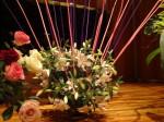 ライブ生け花の作品