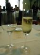 スプマンテで乾杯♪