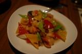 海老と松の実炒め