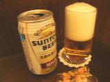 風呂上りのビールはウマイ!
