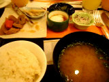 1回目は和食にしました