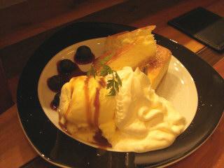 チーズケーキ&アイスクリーム