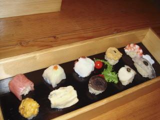 お寿司10個