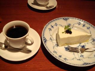 チ−ズケーキセット