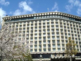 桜とヒルトン小田原