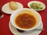 スープ・サラダ・パン