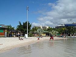 砂浜もあります