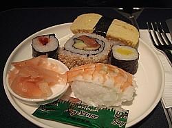 2食目はお寿司