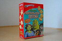 シュレックのチョコクッキー