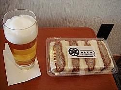 ビールにもあいます