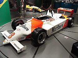 セナのレースカー