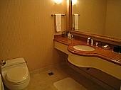 リビングルームのトイレ
