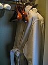 ベッドルームのロッカー