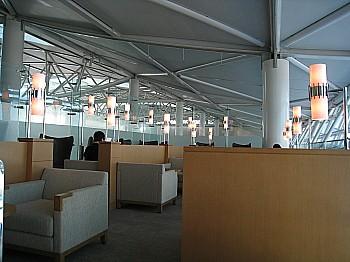 仁川空港のラウンジ
