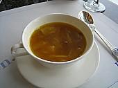 イタリアンランチのスープ