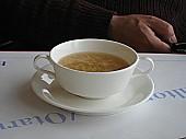アジアンランチのスープは中華風