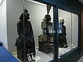 城内の展示