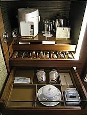 ミニバー&お茶セット