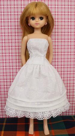 リカちゃん,ベアトップドレス