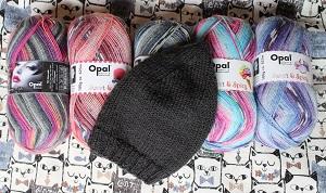 ニット帽,opal