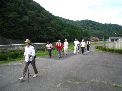 平成26年8月30日(土)三次市川西コミュニティセンターにて「夕涼みウォーキング」